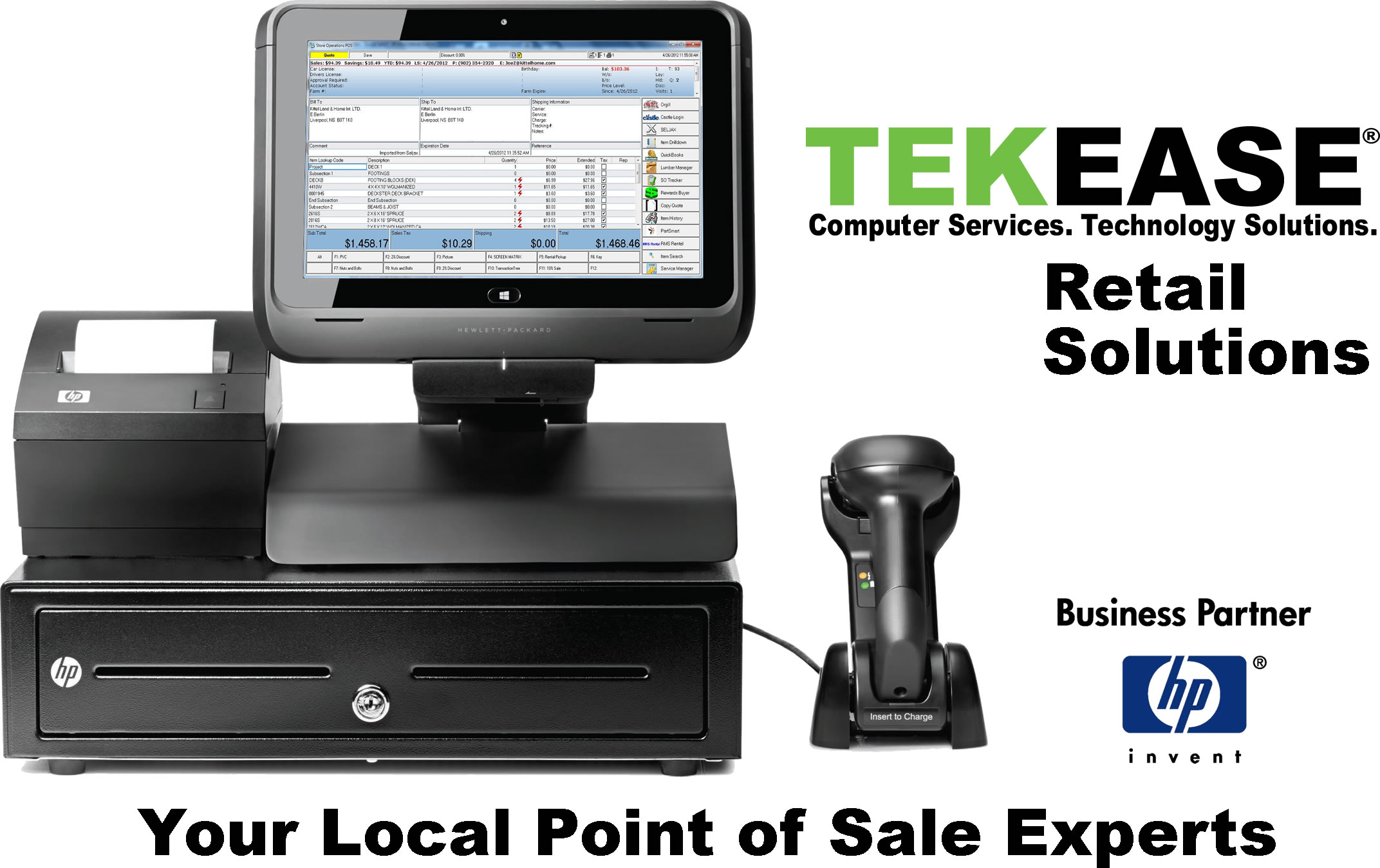 Point of Sale System - Peoria IL - TEKEASE